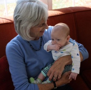 And, most recently, with baby Ezra