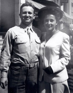 On leave in SF with his sister, my Aunt Ruth